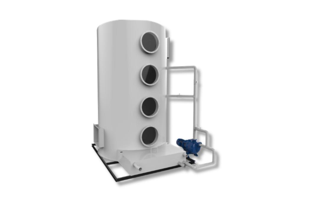 喷淋塔吸-新材料吸收